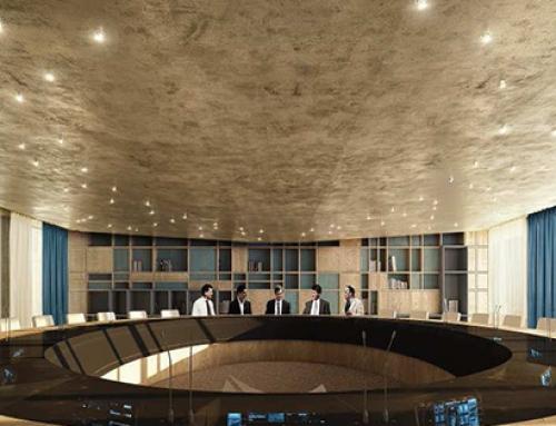 Travaux d'aménagement du nouveau siège du groupe LA POSTE dans le bâtiment « LEMNYS » à Issy-les-Moulineaux (92)