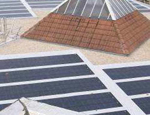 Implantation de cellules photovoltaïques sur la terrasse du groupe scolaire Moulin des Pierres à CLAMART (92)