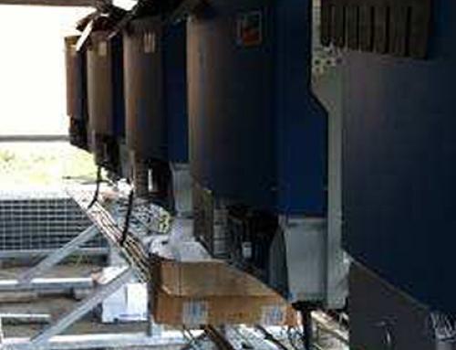 Implantation de cellules photovoltaïques sur la couverture du gymnase Léo LAGRANGE à Nanterre (92)